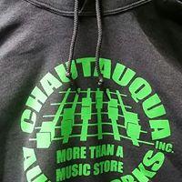 CHAUTAUQUA AUDIO WORKS HOODIE